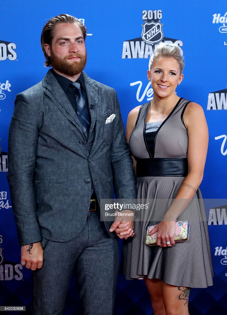 Braden Holtby Of The Washington Capitals And His Wife Attend The 2016 News Photo Getty Images