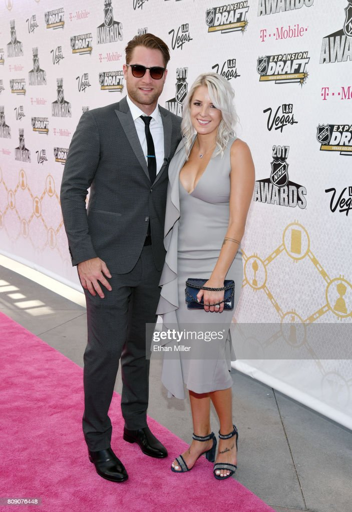 Braden Holtby Of The Washington Capitals And His Wife Brandi Bodnar News Photo Getty Images