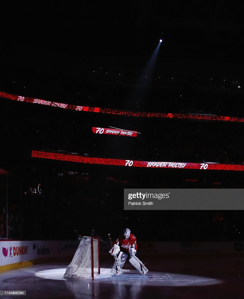 DC: Carolina Hurricanes v Washington Capitals - Game Seven