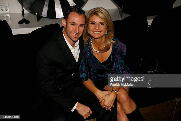 Braden Pollock and Lisa Bloom attend DONNA KARAN and THE URBAN ZEN FOUNDATION host a dinner for THE MERCY CORPS at Stephan Weiss Studio on October 22...
