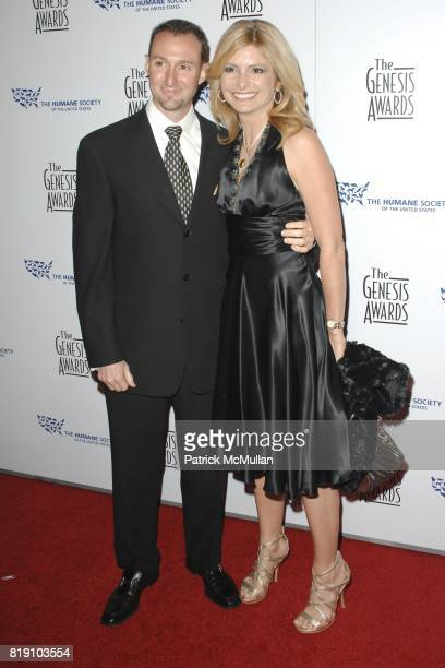 Braden Pollock and Lisa Bloom attend The 24th Genesis Awards at Beverly Hilton Hotel on March 20 2010 in Beverly Hills California