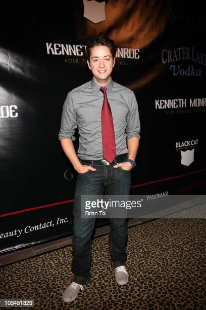 Bradford Anderson attends cougar style soiree hosted by Cougar Town star Carolyn Hennesy at Hotel Palomar on August 18 2010 in Los Angeles California