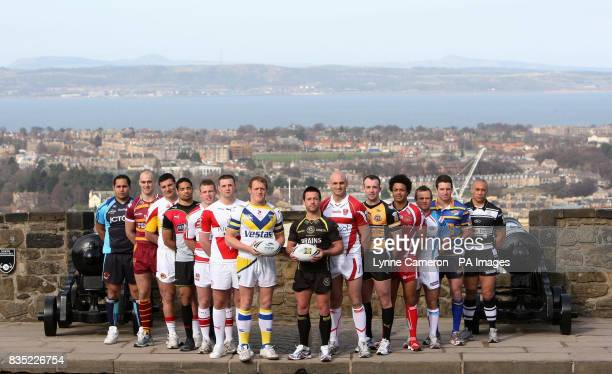 Bradford Bull's David Solomona Huddesfield Giant's Andy Raleigh Catalans Dragons Sebastien Raguin Harlequins Will Sharp Wigan Warriors Cameron Phelps...