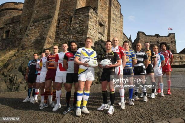 Bradford Bull's David Solomona, Wigan Warriors Cameron Phelps, St Helens Gareth Frodsham, Huddesfield Giant's Andy Raleigh, Catalans Dragons...