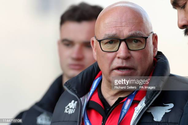 Bradford Bulls head coach John Kear before the Betfred Championship Summer Bash match at Bloomfield Road Blackpool