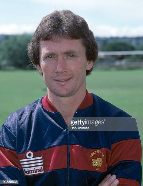 Bradford City manager Trevor Cherry at the team's pre season photocall in Bradford during August 1985