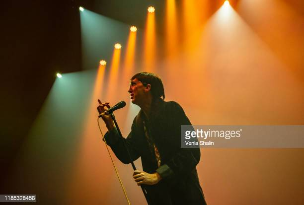 Bradford Cox of Deerhunter performs at the Roundhouse on November 3 2019 in London England