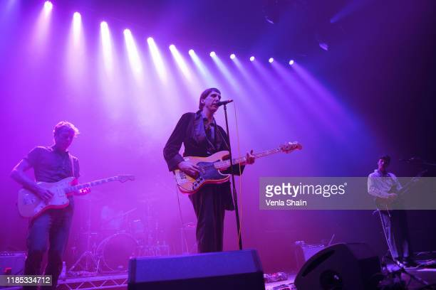 Bradford Cox of Deerhunter performs at the Roundhouse on November 3, 2019 in London, England.