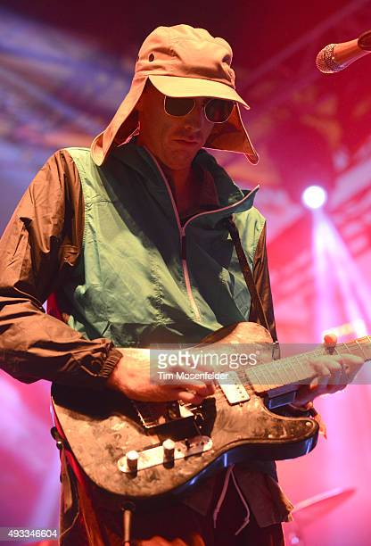 Bradford Cox of Deerhunter performs during the Treasure Island Music Festival on Treasure Island on October 18 2015 in San Francisco California