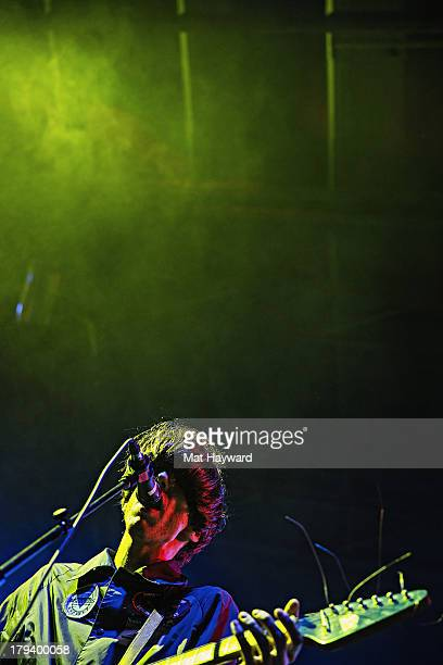 Bradford Cox of Deerhunter performs on stage during day 3 of the Bumbershoot Music Festival at Seattle Center on September 2 2013 in Seattle...