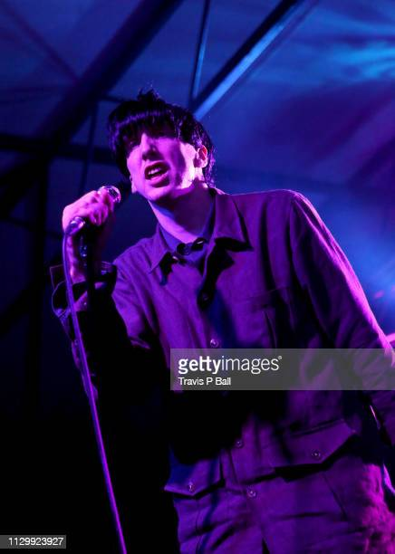 Bradford Cox of Deerhunter performs onstage at The Onion AV Club Event during the 2019 SXSW Conference and Festivals at Mohawk Outdoor on March 11,...