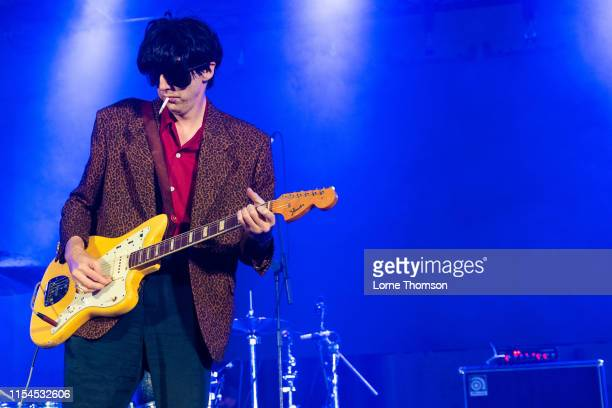 Bradford Cox of Deerhunter performs onstage during Field Day Festival 2019 at Meridian Water on June 07 2019 in London England
