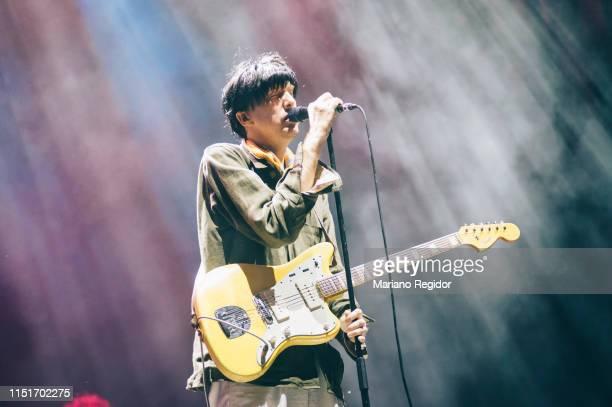Bradford Cox of Deerhunter performs onstage during Tomavistas Festival on May 25, 2019 in Madrid, Spain.