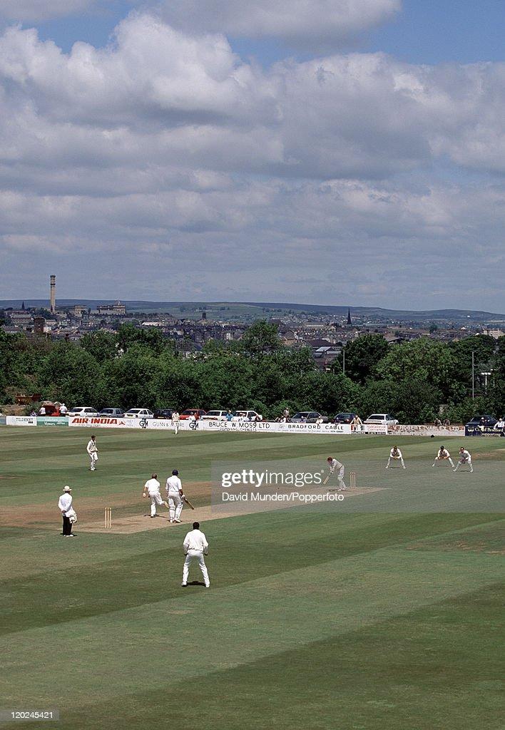 Bradford Park Avenue Cricket Ground : News Photo