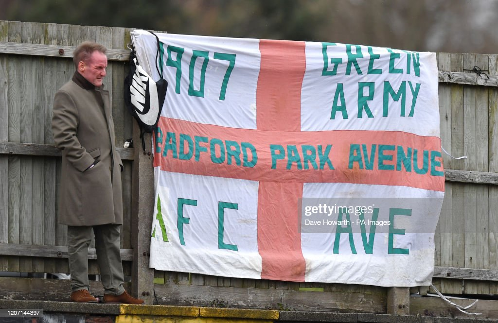 Bradford Park Avenue v Curzon Ashton - Vanarama National League North - Horsfall Stadium : News Photo