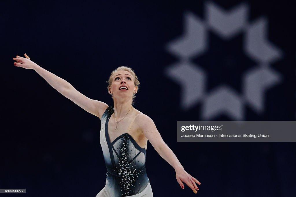 ISU World Figure Skating Championships - Stockholm: Day Three : ニュース写真