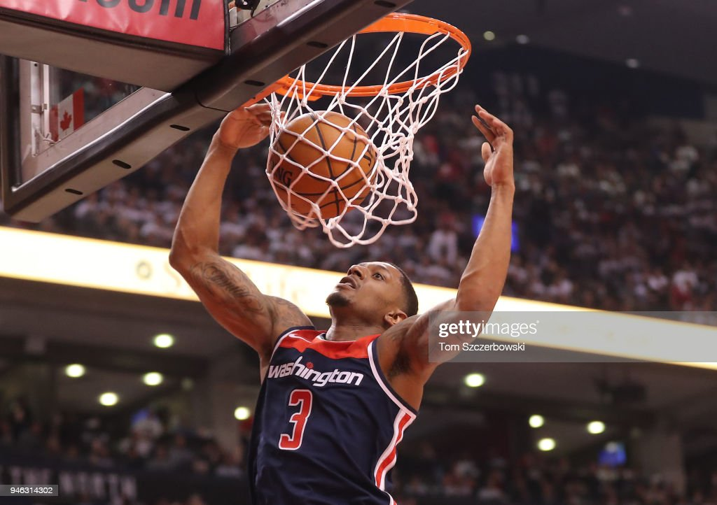 Washington Wizards v Toronto Raptors - Game One