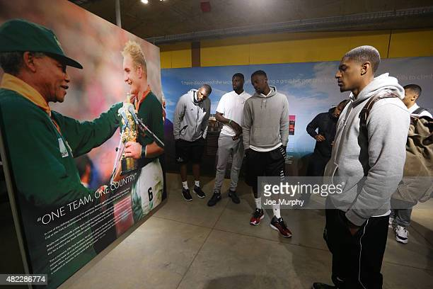 Bradley Beal of the Washington Wizards Jeff Green of the Memphis Grizzlies Nazr Mohammed of the Chicago Bulls and Festus Ezeli of the Golden State...
