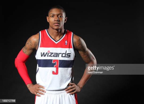 Bradley Beal of the Washington Wizards poses for a portrait during 2012 NBA Media Day at the Verizon Center on October 1 2012 in Washington DC NOTE...
