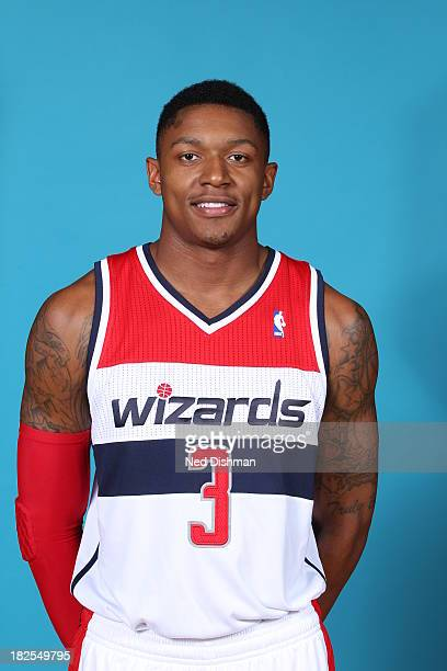 Bradley Beal of the Washington Wizards poses for a portrait during 2013 NBA Media Day at the Verizon Center on September 27 2013 in Washington DC...