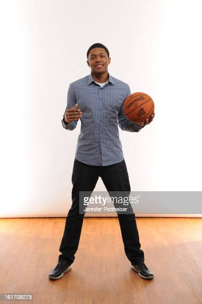 Bradley Beal of the Wasington Wizards poses for portraits during the NBAE Circuit as part of 2013 AllStar Weekend at the Hilton Americas Hotel on...