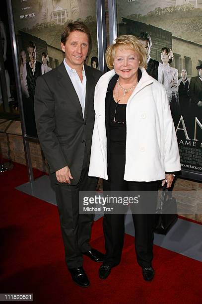 Bradley Bell and Lee Phillip Bell arrive at the Los Angeles Premiere of The Man Who Came Back held at the Aero Theater on February 8 2008 in Santa...
