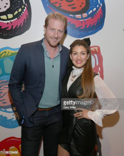 Bradley Buckman and Alexis Jones attend the Voices For Justice fundraiser benefitting Proclaim Justice at ACL Live At The Moody Theatre on February 6...