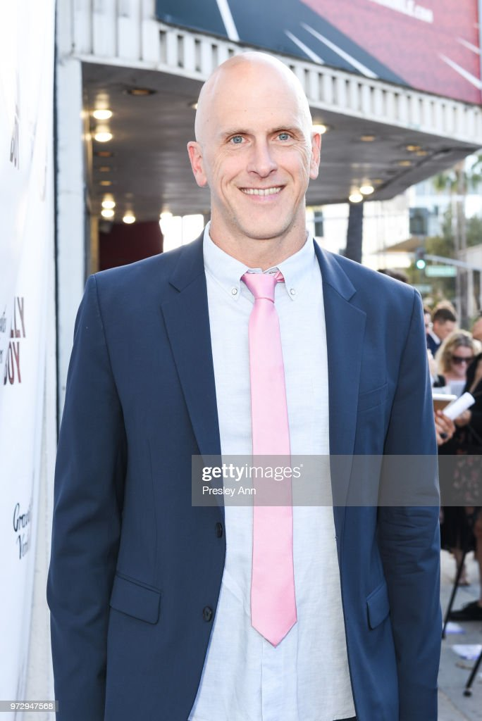 Bradley Buecker attends 'Billy Boy' Los Angeles Premiere - Red Carpet at Laemmle Music Hall on June 12, 2018 in Beverly Hills, California.