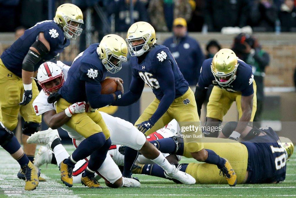 North Carolina State v Notre Dame : News Photo