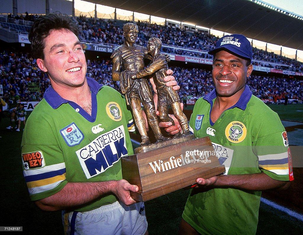 1994 ARL Grand Final - Bulldogs v Raiders : News Photo