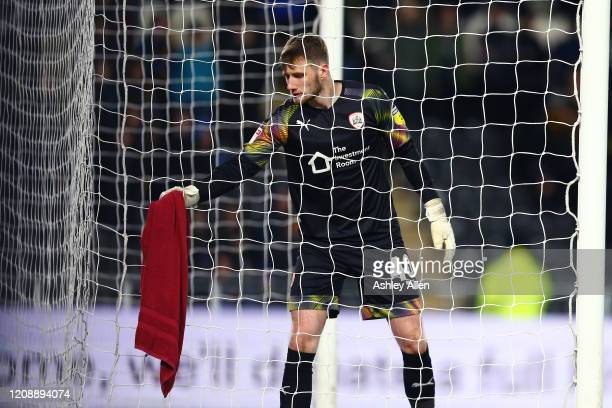 Bradley Collins of Barnsley FC during the Sky Bet Championship match between Hull City and Barnsley at KCOM Stadium on February 26 2020 in Hull...