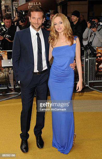 Bradley Cooper and Heather Graham attend the UK premiere of 'The Hangover' at Vue West End on June 10 2009 in London England