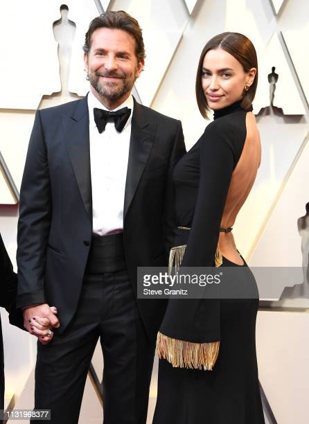 Bradley Cooper and Irina Shayk arrives at the 91st Annual Academy Awards at Hollywood and Highland on February 24 2019 in Hollywood California