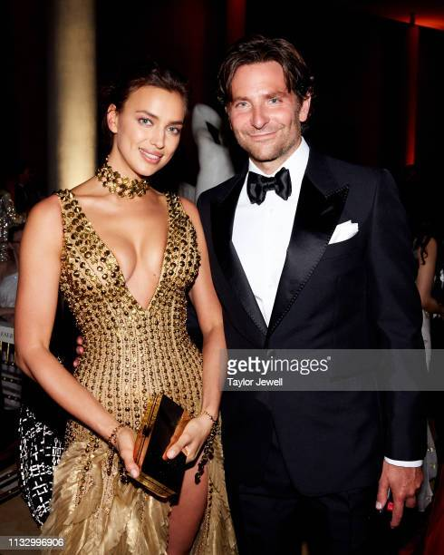 Bradley Cooper and Irina Shayk attend Heavenly Bodies Fashion The Catholic Imagination Costume Institute Gala at The Metropolitan Museum of Art on...