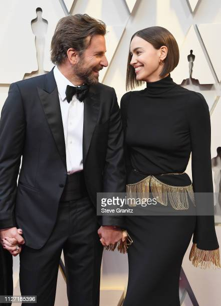 Bradley Cooper and Irina Shayk attend the 91st Annual Academy Awards at Hollywood and Highland on February 24 2019 in Hollywood California