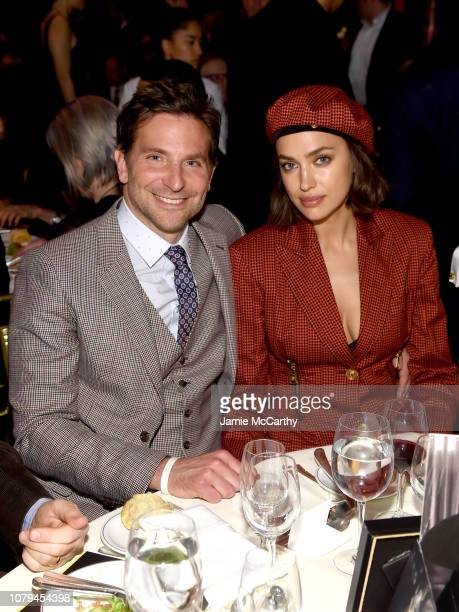 Bradley Cooper and Irina Shayk attend The National Board of Review Annual Awards Gala at Cipriani 42nd Street on January 8, 2019 in New York City.