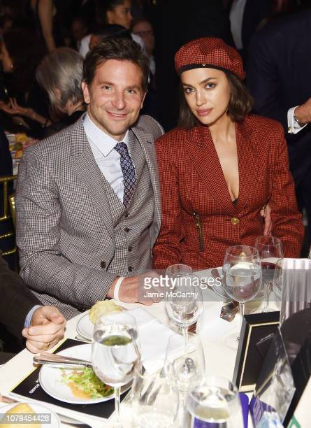 Bradley Cooper and Irina Shayk attend The National Board of Review Annual Awards Gala at Cipriani 42nd Street on January 8 2019 in New York City