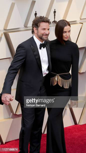 Bradley Cooper and Irina Shayk attends the 91st Annual Academy Awards at Hollywood and Highland on February 24 2019 in Hollywood California