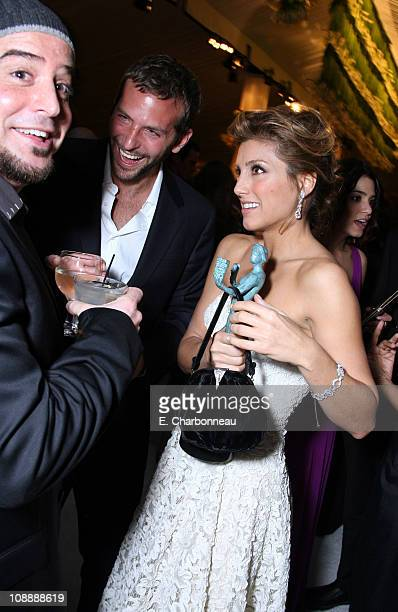 Bradley Cooper and Jennifer Esposito during 12th Annual Screen Actors Guild Awards Official After Party hosted by People Magazine and the...