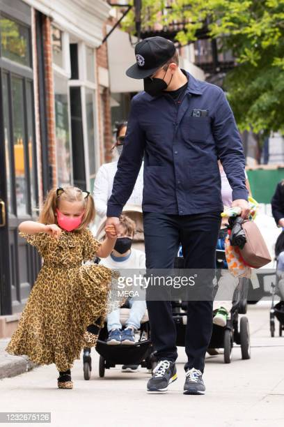 Bradley Cooper and Lea Cooper seen on May 3, 2021 in New York City, New York.