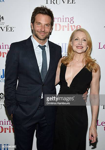 Bradley Cooper and Patricia Clarkson attend A Celebration for Patricia Clarkson Presented by FIJI Water and Truvee Wines on December 15 2015 in New...