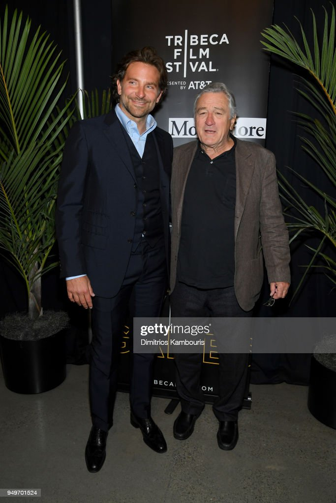 Storytellers: Bradley Cooper & Robert DeNiro - 2018 Tribeca Film Festival : ニュース写真
