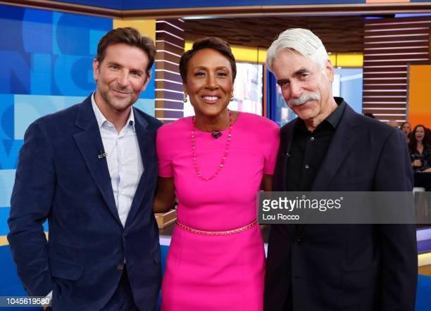 AMERICA Bradley Cooper and Sam Elliott are guests on 'Good Morning America' airing Wednesday October 3 2018 on ABC BRADLEY
