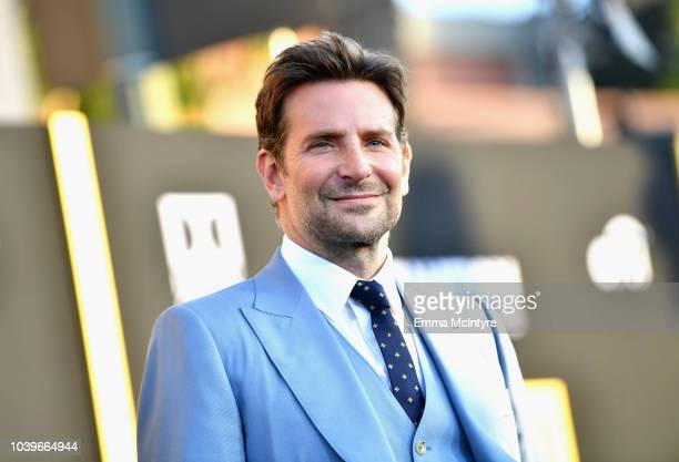 Bradley Cooper arrives on the red carpet at the Premiere Of Warner Bros Pictures' A Star Is Born at The Shrine Auditorium on September 24 2018 in Los...