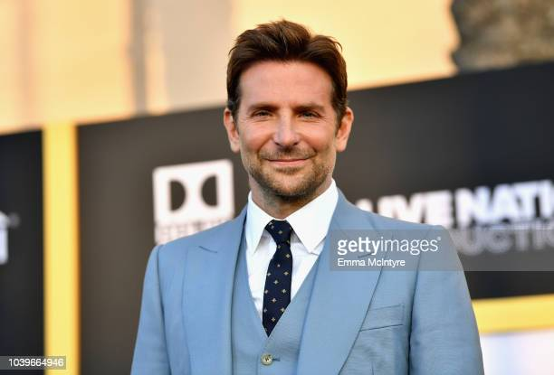 """Bradley Cooper arrives on the red carpet at the Premiere Of Warner Bros. Pictures' """"A Star Is Born"""" at The Shrine Auditorium on September 24, 2018 in..."""
