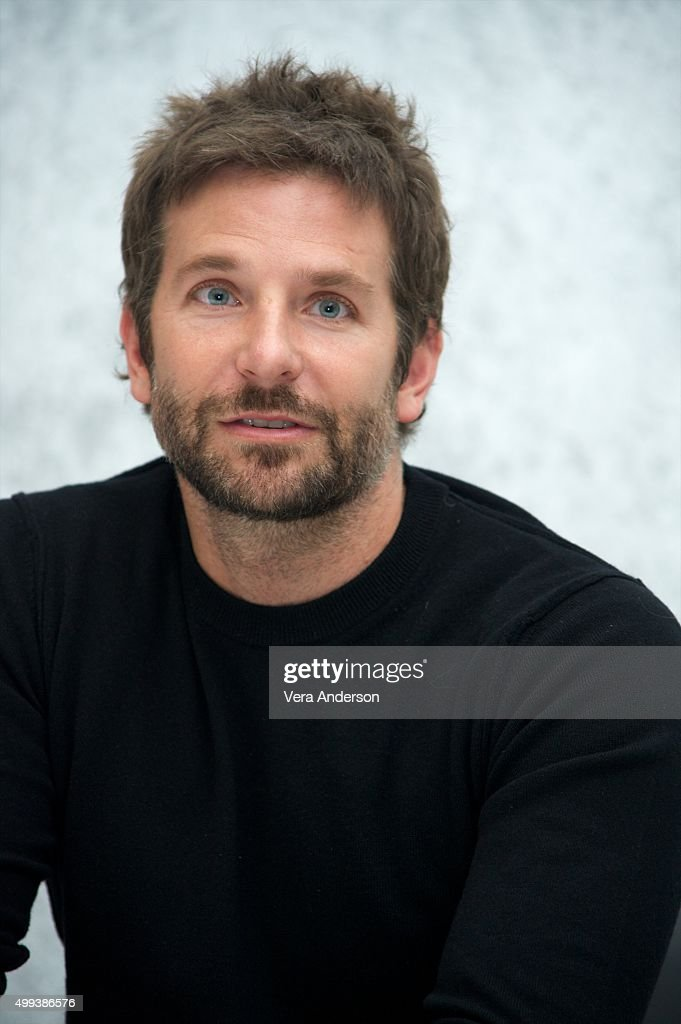 Bradley Cooper at the 'Joy' Press Conference at the InterContinental Hotel on November 29, 2015 in Century City, California.