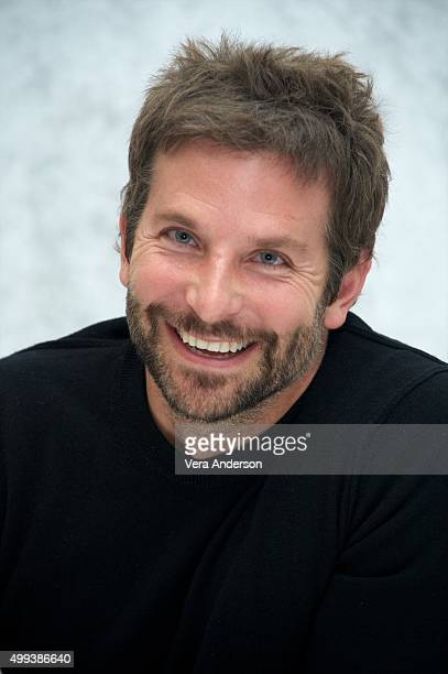 Bradley Cooper at the 'Joy' Press Conference at the InterContinental Hotel on November 29 2015 in Century City California
