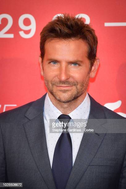 Bradley Cooper attends 'A Star Is Born' photocall during the 75th Venice Film Festival at Sala Casino on August 31 2018 in Venice Italy