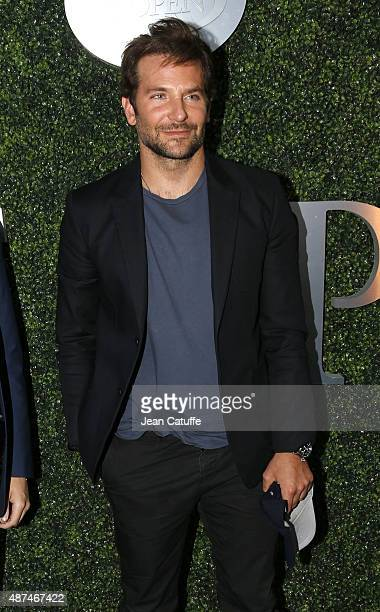 Bradley Cooper attends day ten of the 2015 US Open at USTA Billie Jean King National Tennis Center on September 9, 2015 in the Flushing neighborhood...