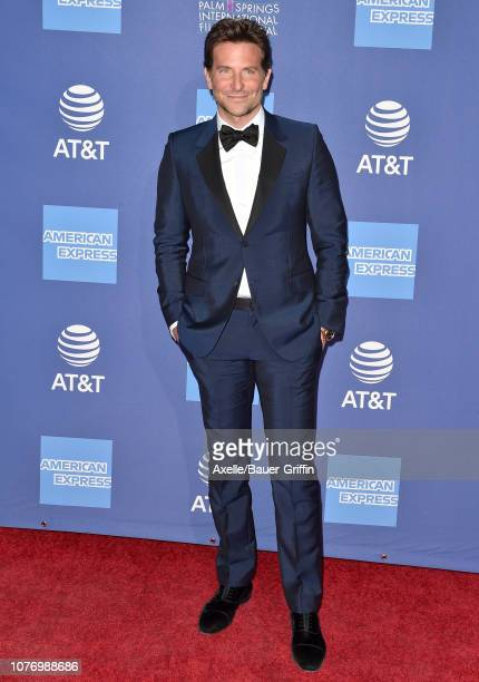 Bradley Cooper attends the 30th Annual Palm Springs International Film Festival Film Awards Gala at Palm Springs Convention Center on January 3 2019...